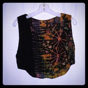 Tops - Tie dye Crop Tops Women Size S